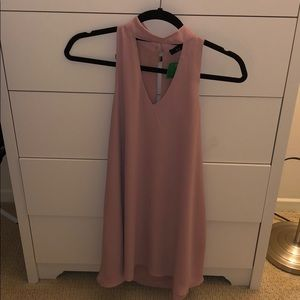 A-Line Pink Summer Dress. Tag on never been worn